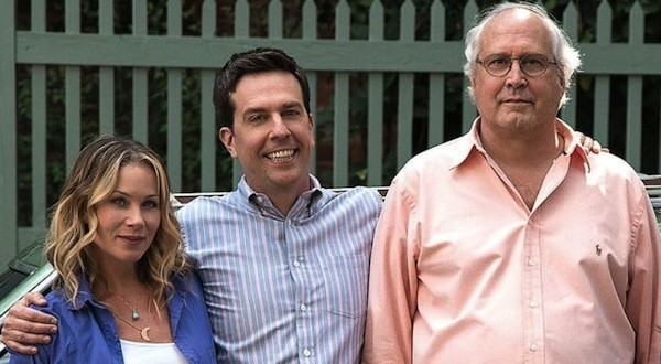 Christina Applegate, Ed Helms and Chevy Chase in Vacation (Photo: Warner Bros.)