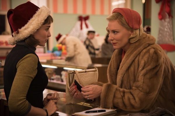 Rooney Mara and Cate Blanchett in Carol (Photo: The Weinstein Company)