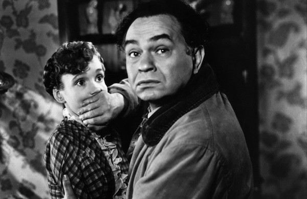 Allene Roberts and Edward G. Robinson in The Red House (Photo: The Film Detective)