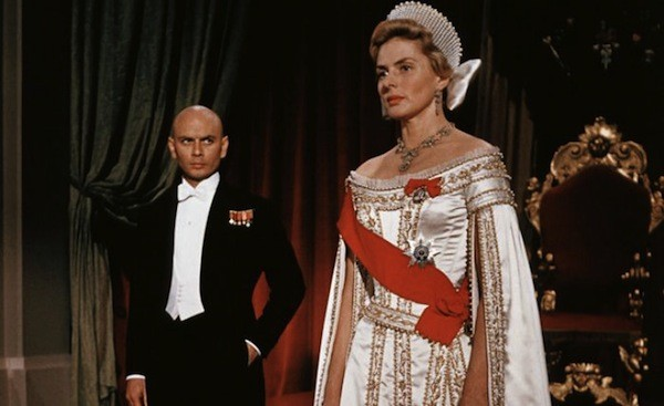 Yul Brynner and Ingrid Bergman in Anastasia (Photo: Twilight Time)