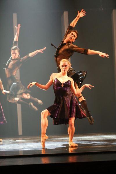 "Dwight Rhoden's ""Bop Doo Wah"" in Charlotte Ballet's Spring Works."