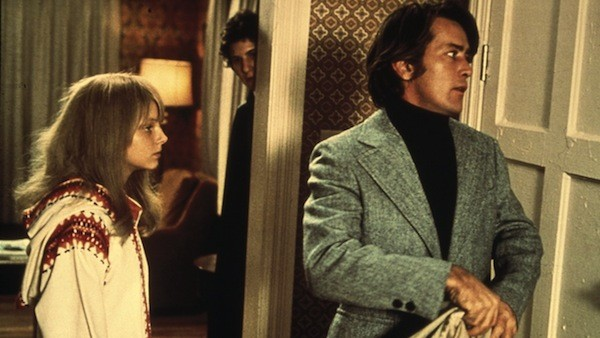 Jodie Foster, Scott Jacoby (background) and Martin Sheen in The Little Girl Who Lives Down the Lane (Photo: Kino)