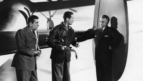 Edward Everett Horton, Robert Montgomery and Claude Rains in Here Comes Mr. Jordan (Photo: Criterion)
