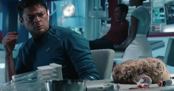 Karl Urban in Star Trek Into Darkness (Photo: Paramount)