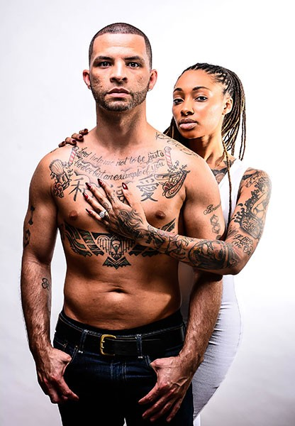 "Brandon Locklear and Dutchess Lattimore (Photo by Kevin ""Surf"" Mitchell)"