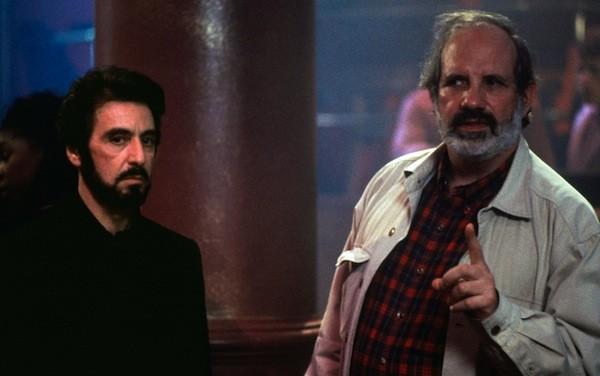 Al Pacino and Brian De Palma on the set of Carlito's Way, as seen in De Palma (Photo: A24)