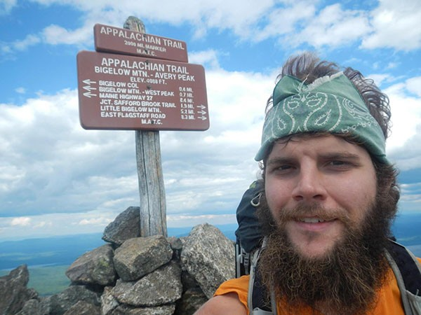 Matt Howard took five months to hike the Appalachian Trail, and aims to finish the Pacific Crest Trail in four and a half.