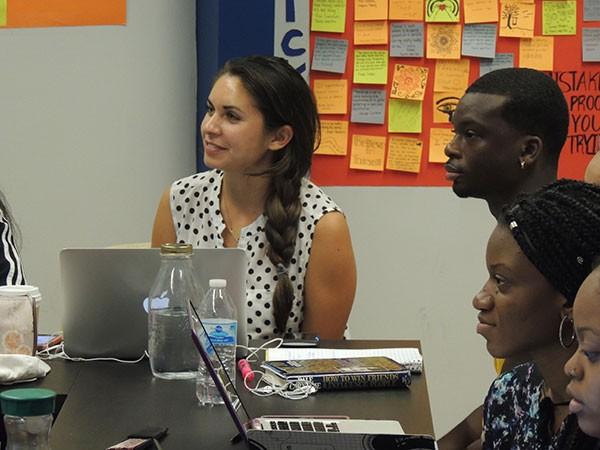 Kayla Romero is one of three women leading the SERAN fellowship. (Photo by Ryan Pitkin)