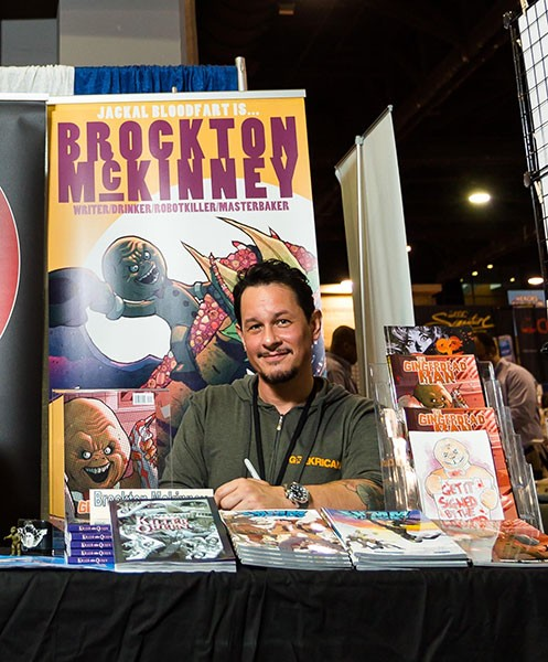 Brockton McKinney will be at Charlotte Comicon on Aug. 7. (Photo by Patrick Sun)