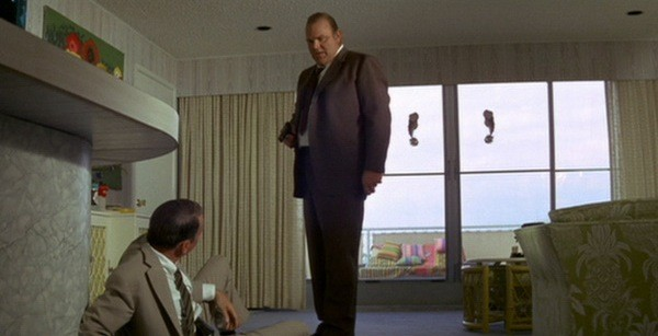 Frank Sinatra and Dan Blocker in Lady in Cement (Photo: Twilight Time)