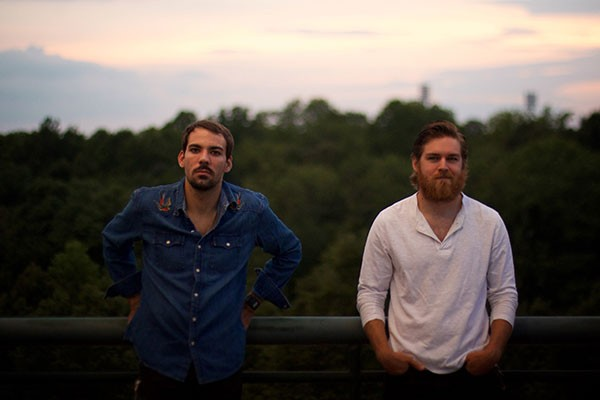 Sam Tayloe and Houston Norris of Time Sawyer. (Photo credit: Maddy Mallory)