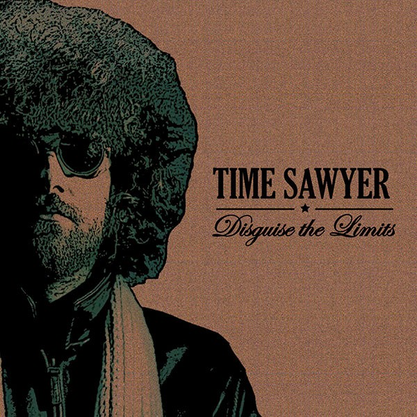 The cover of Time Sawyer's 2014 album, Disguise the Limits. (Photo by LL2 Productions and layout by Frankie Gene)