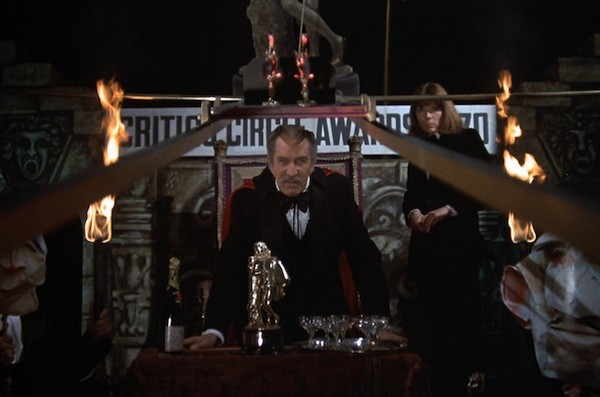 Vincent Price and Diana Rigg in Theatre of Blood (Photo: Twilight Time)