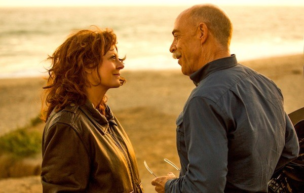 Susan Sarandon and J.K. Simmons in The Meddler (Photo: Sony)