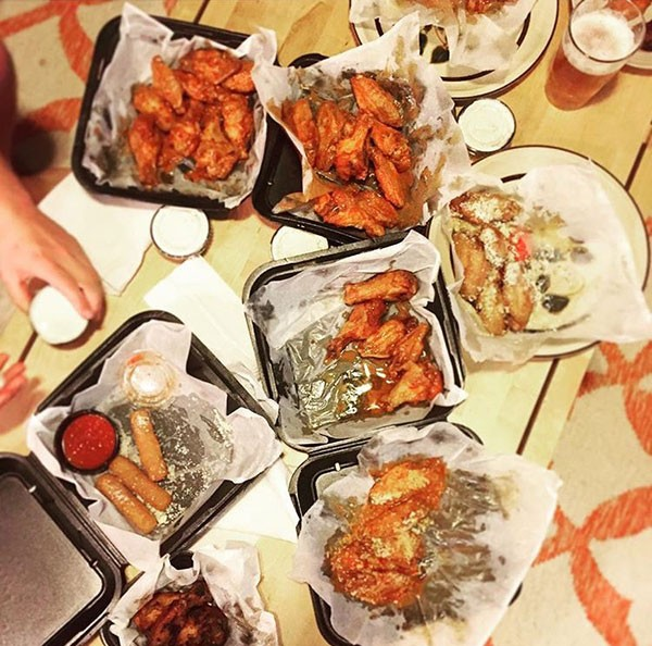 The Wing King sampler. (Photo by Chrissie Nelson)
