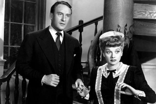 George Sanders and Lucille Ball in Lured (Photo: Cohen)