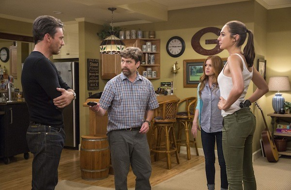 Jon Hamm, Zach Galifianakis, Isla Fisher and Gal Gadot in Keeping Up with the Joneses (Photo: Fox)
