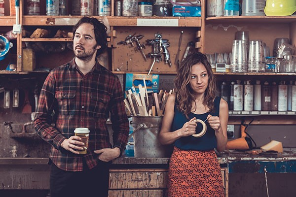 Mandolin Orange performs at McGlohon Theater on Oct. 28. (Photo by Scott McCormick)