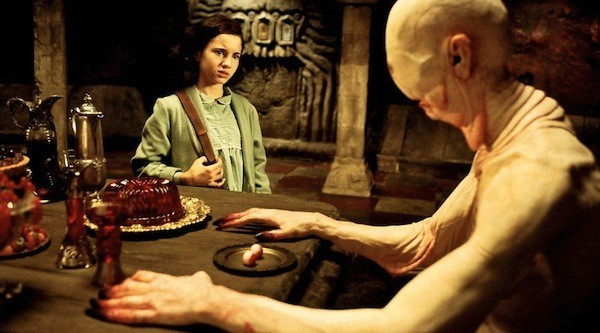 Ivana Baquero and Doug Jones in Pan's Labyrinth (Photo: Criterion)