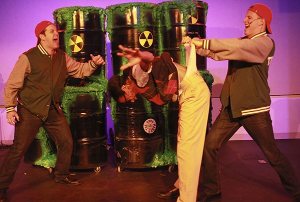 The Toxic Avenger runs through Nov. 12 at Actor's Theatre of Charlotte.