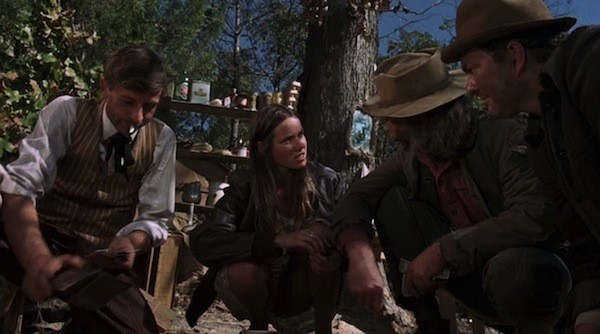 Barry Primus and Barbara Hershey in Boxcar Bertha  (Photo: Twilight Time)