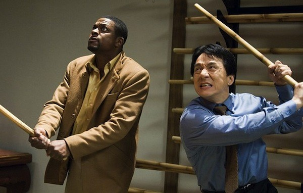 Chris Tucker and Jackie Chan in Rush Hour 3  (Photo: Warner)