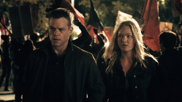Matt Damon and Julia Stiles in Jason Bourne (Photo: Universal)