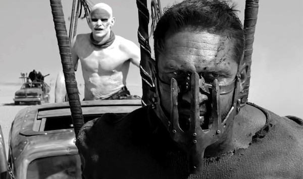 Tom Hardy in Mad Max: Fury Road: Black & Chrome (Photo: Warner)