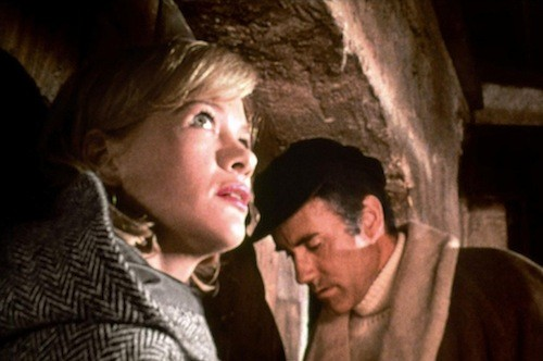 Judy Geeson and Ian Bannen in Doomwatch (Photo: Kino)