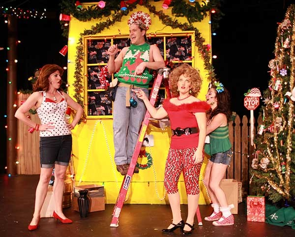 Actor's Theatre of Charlotte's Great American Trailer Park Christmas Musical (2015 production picture).