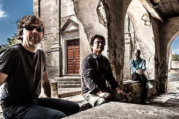 From left) Paul Richards, Hideyo Mariya and Bert Lam of the Carolina Guitar Trio.