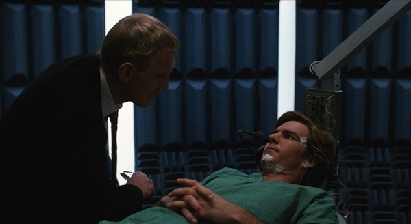Max von Sydow and Dennis Quaid in Dreamscape (Photo: Shout! Factory)