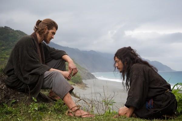 Andrew Garfield and Yosuke Kubozuka in Silence (Photo: Paramount)