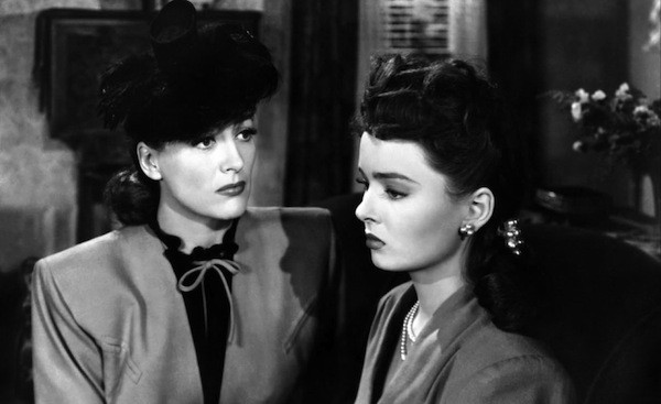 Joan Crawford and Ann Blyth in Mildred Pierce (Photo: Criterion)