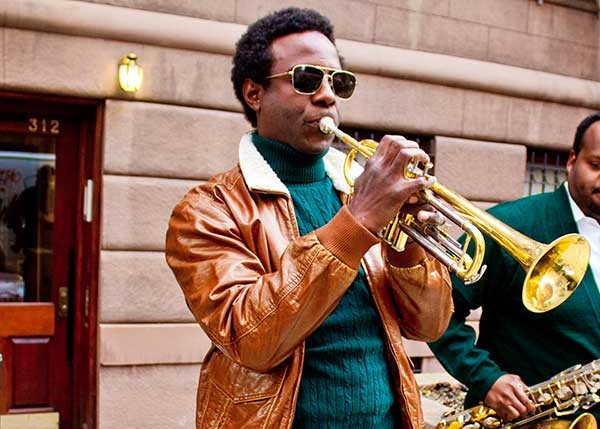 El-Amin as Miles Davis - PHOTO BY LOVO