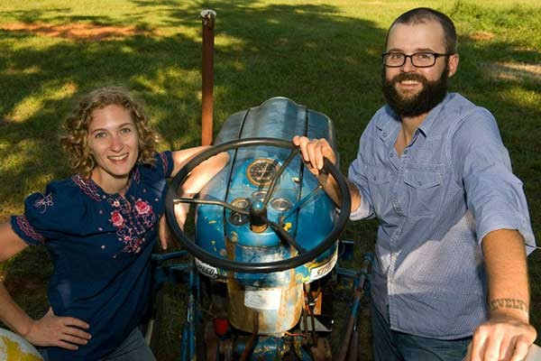 Dani and Joe Rowland of Rowland's Row Farms