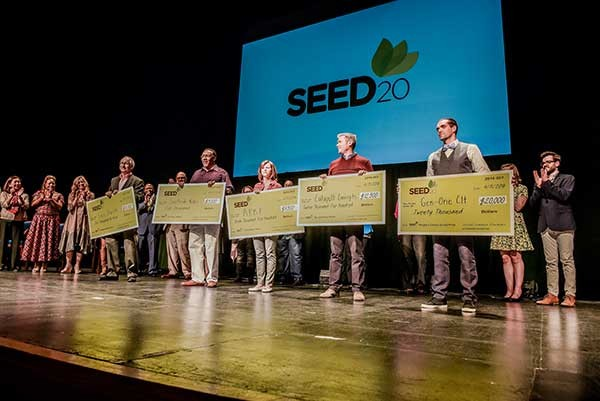 2016 Winners (left to right): Focus Charlotte, Southside Rides Foundation, American Pitbull Foundation, Catapult Concepts, and Gen-One Charlotte.