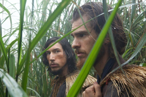 Adam Driver and Andrew Garfield in Silence (Photo: Paramount)