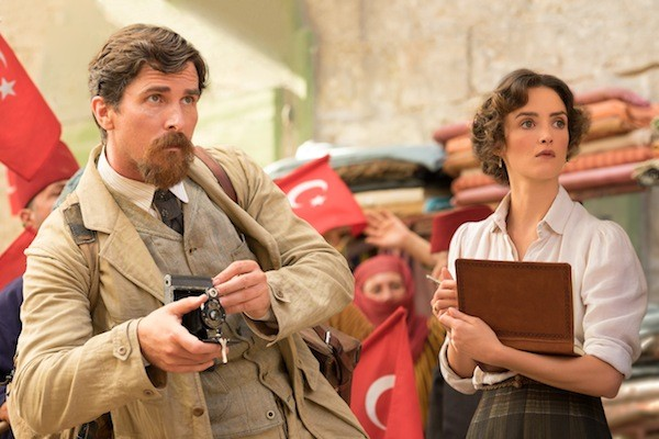 Christian Bale and Charlotte Le Bon in The Promise (Photo: Open Road)