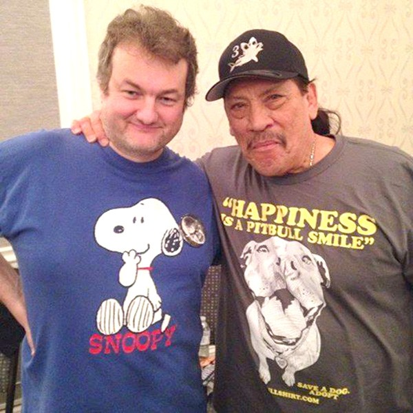 In 2015, Brunson met Machete star Danny Trejo at the Mad Monster Party in Charlotte.