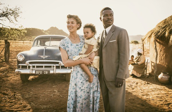 Rosamund Pike and David Oyelowo in A United Kingdom (Photo: Fox)