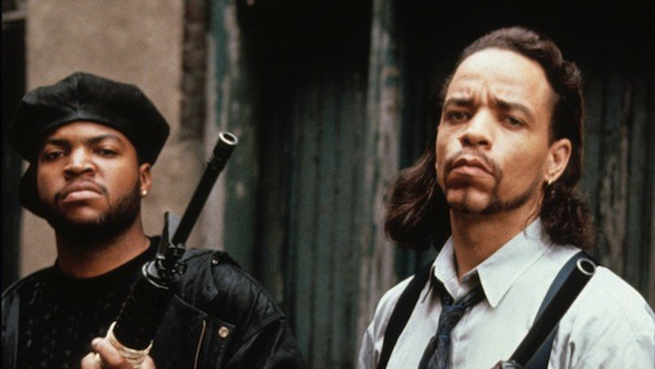 Ice Cube and Ice-T in Trespass (Photo: Shout! Factory)