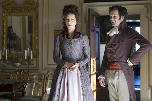Kate Beckinsale and Tom Bennett in Love & Friendship (Photo: Roadside Attractions)