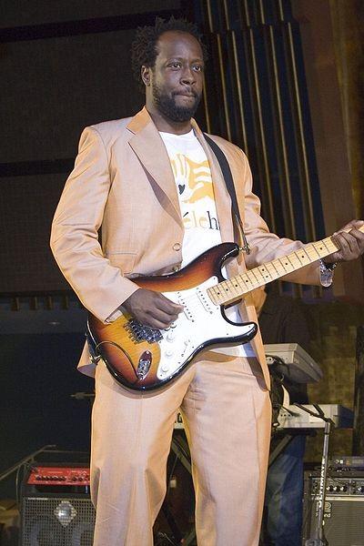 Wyclef Jean. (Photo by Ali Dan-Bouzoua)