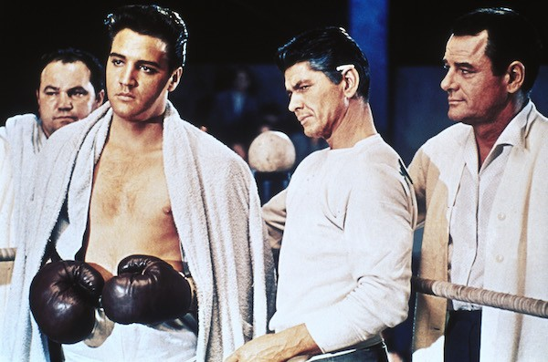 Elvis Presley, Charles Bronson and Gig Young in Kid Galahad (Photo: Twilight Time)