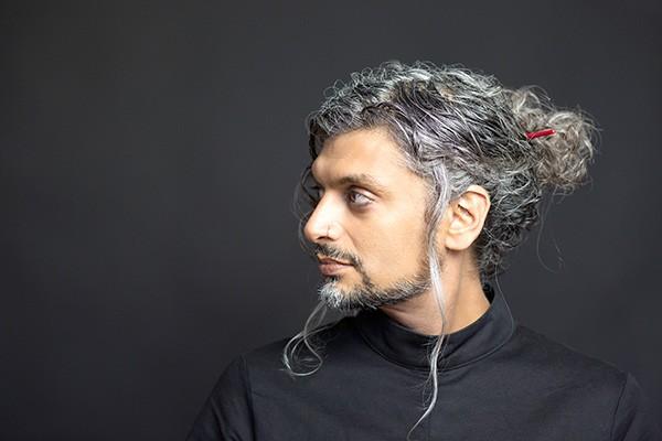 Kazim Ali. (Photo by Tonya Rosen-Jones)
