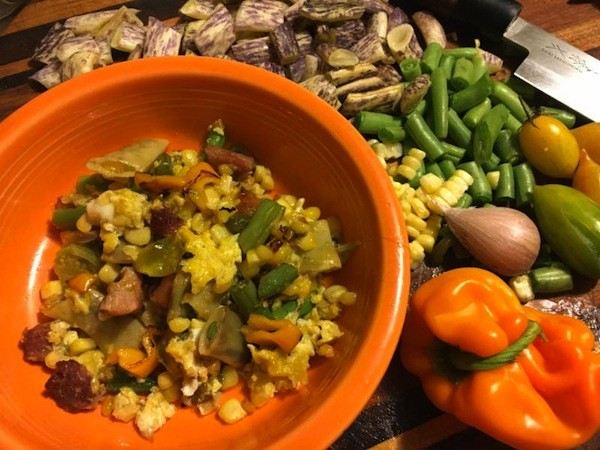 Grannie Smith's Succotash. (Photo by Ari LeVaux)