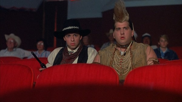 Jon Cryer and Daniel Roebuck in Dudes (Photo: Shout! Factory)