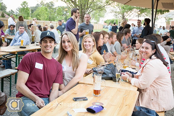 #InstaBeerUpCLT at Olde Meck Brewery. (Photo by EA Decker Photography)