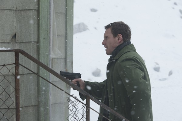 Michael Fassbender in The Snowman (Photo: Universal)